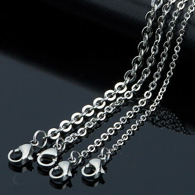 5pcs/lot in bulk Stainless steel Joint O Link Chain Necklace Fashion Jewelry