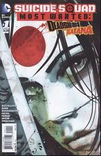 Suicide Squad Most Wanted Deadshot Katana #1 B (of 6)   NEW!!!