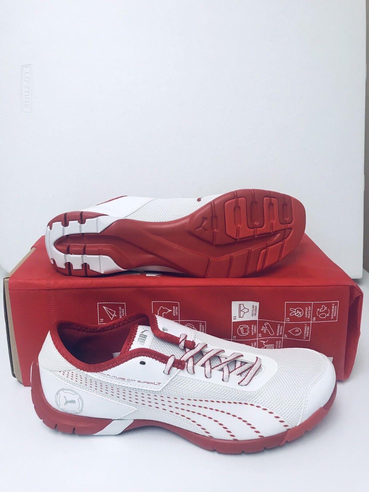 PUMA FUTURE CAT SUPER LT    Uomo scarpe bianca-Flame Scarlet Dimensione 10 6d2e78