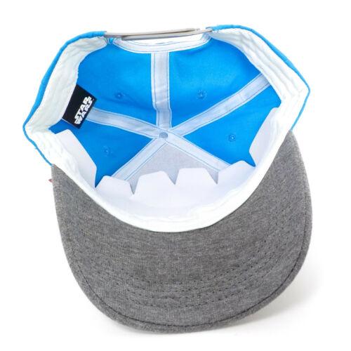 Disney Star Wars Kids Snapback Hat Adjustable Blue Grey Childrens Baseball Cap