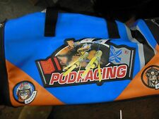 Star Wars The Phantom Menace Pod Racing Duffle Gym Bag Anakin Sebula Pictured
