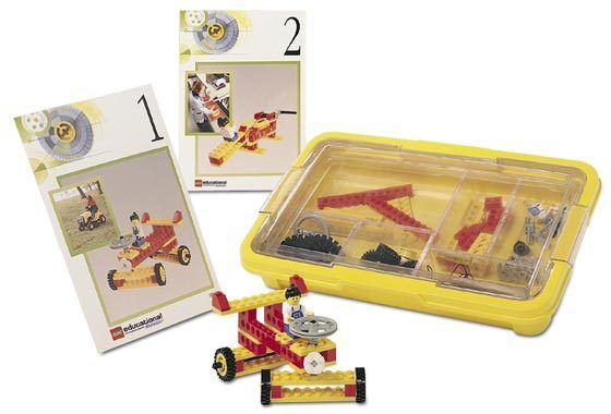 LEGO DACTA Technic Wheels and Axles Set  9616 - Plus Bonus