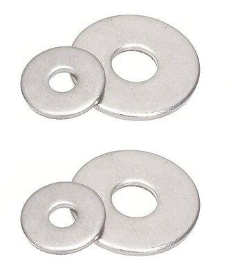 Karosseriescheiben Gro/ße Unterlegscheiben M8 20 St/ück rostfrei Eisenwaren2000 - DIN 9021 // ISO 7093-1 Edelstahl A2 V2A