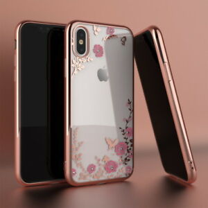 Ultra-Slim-Shockproof-Plating-Clear-Soft-Rubber-Cover-Case-For-iPhone-XS-Max-XR