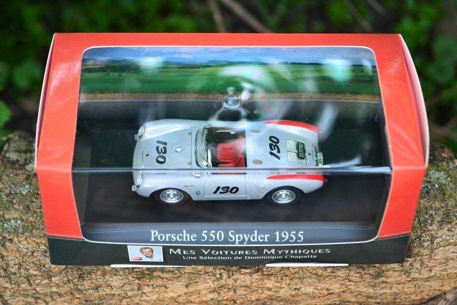 1 43 tärningskast - ATLAS - Porsche 550 Spyder - 1955 - Lille bastjärnad - James Dean