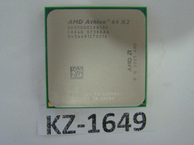 AMD Athlon 64 X2 5000+ 5,2 GHz (2x2, 6 GHz) (AD05000IAA5DD) Processor #kz-1649