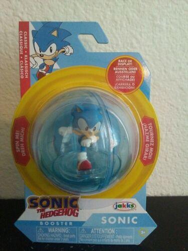 NOUVEAU Classic Sonic The Hedgehog Booster Ball /& Figurine SEGA Jakks Pacific 2020