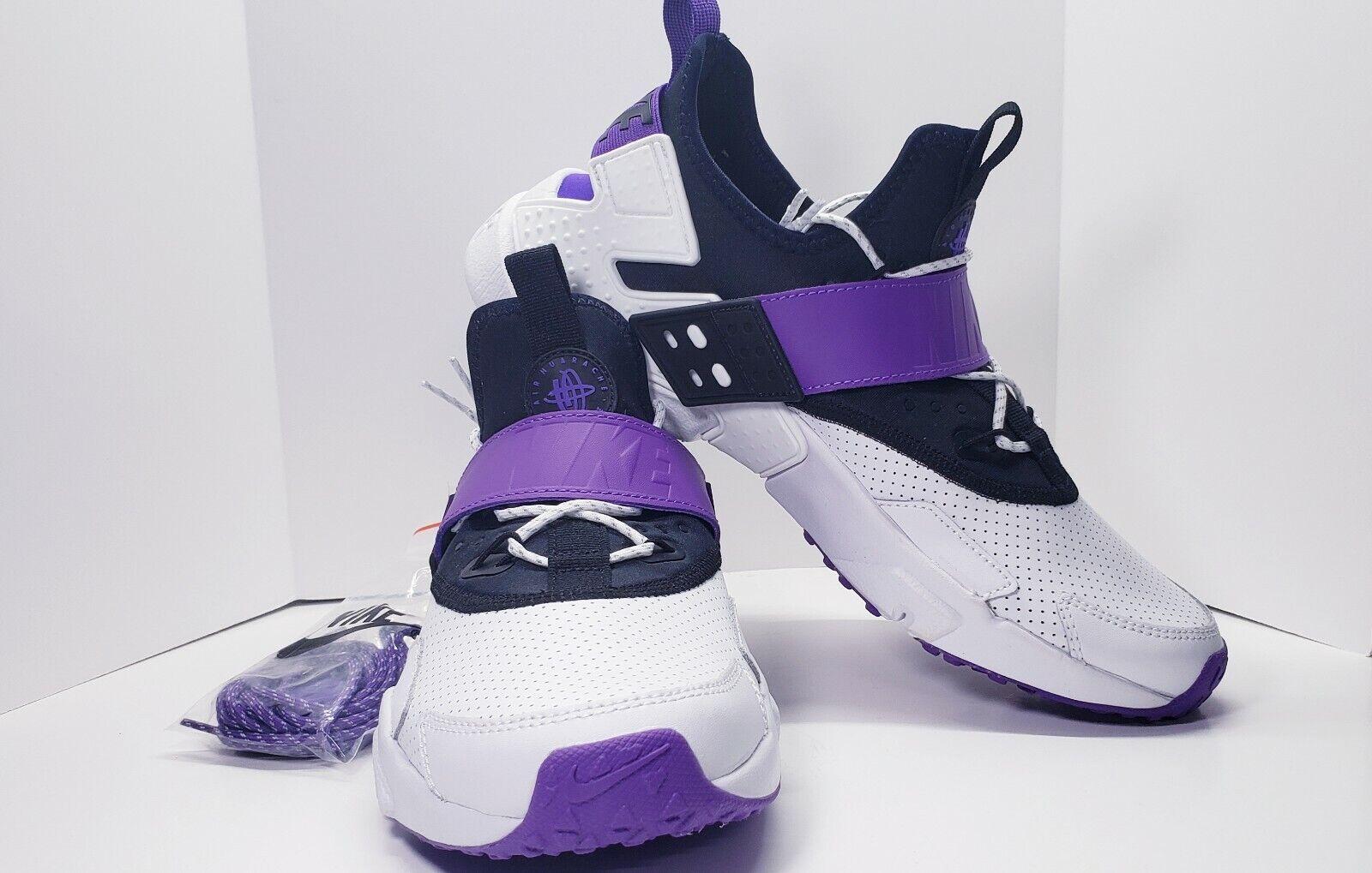 New Nike Air Huarache Drift Premium  Purple Punch  Mens Size 9.5 AH7335 101