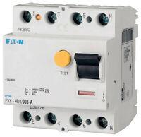 Moeller PXF-40/4/003 FI-Schutzschalter 4polig 40A 30mA Typ A  ( J15163 )