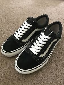 vans blanche old scool