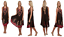 Ladies Womens Summer Embroidery Loose Fit Sleeveless Top Tie Dye Maternity Dress