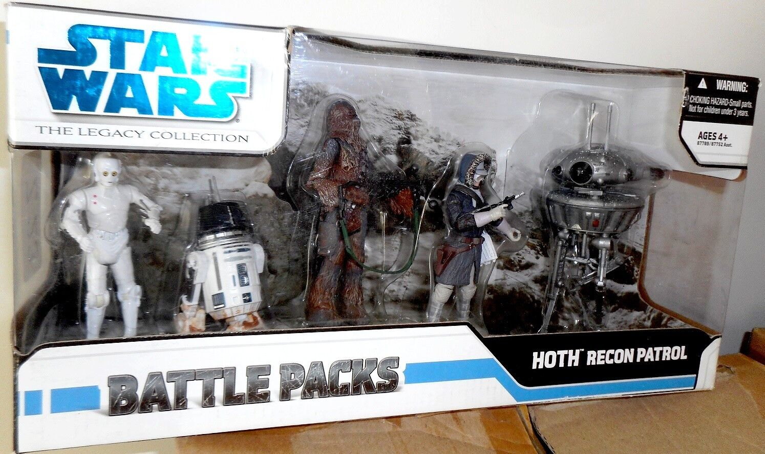 Battle Pack HOTH RECON PATROL K-2PO K-2PO K-2PO R5-M2 Droid The Legacy Collection Star Wars 1f117d