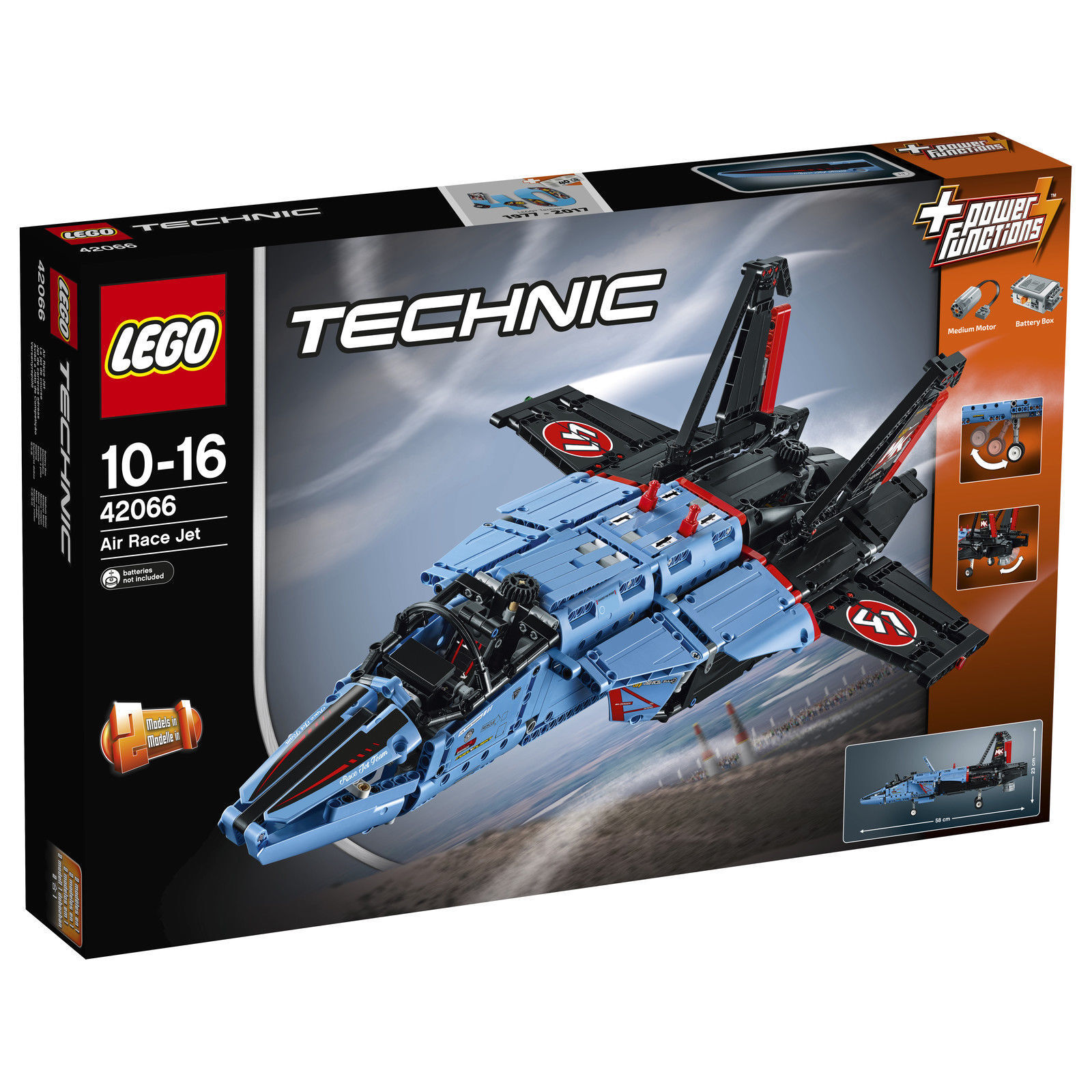 LEGO Technic 42066 Air Race Jet Neu OVP