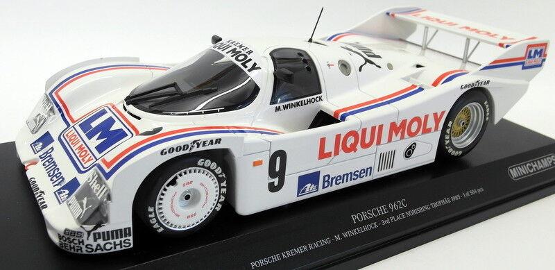 Minichamps 1 18 Scale diecast - 155 856509 Porsche 962C Kremer Racing Norisring