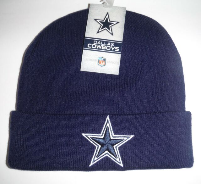 312c9d29428b0f Dallas Cowboys Knit Hat Beanie Toque NFL Authentic Logo Athletic ...