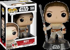 Rey Ep 7 Pop Star Wars Vinyl Figure