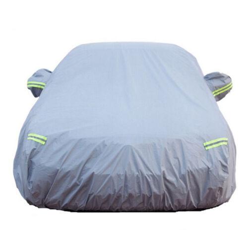Transpirable plenamente garaje auto plane garaje plegable lona cobertora con engrosar algodón