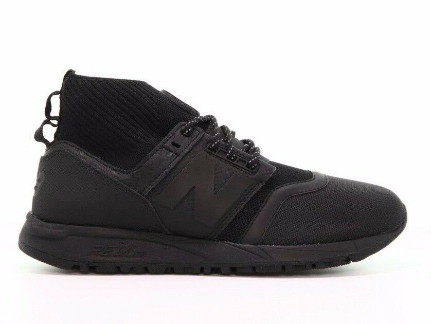 Nuovo equilibrio uomini classici scarpe 247 metà tagliato le scarpe classici nere mrl247ob b 943cc7