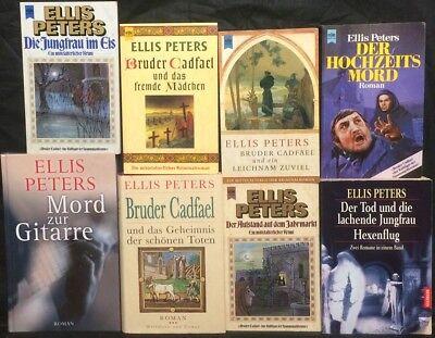 15 Romane Von Ellis Peters Effizient Sammlung Paket Bruder Cadfael Mönchskraut Uva