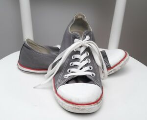 Grey Converse trainers shoes pumps 7 40