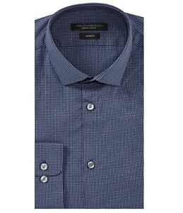 John-Varvatos-Star-USA-Men-039-s-Long-Sleeve-Check-Dress-Shirt-Slim-Fit-Cloud-Blue