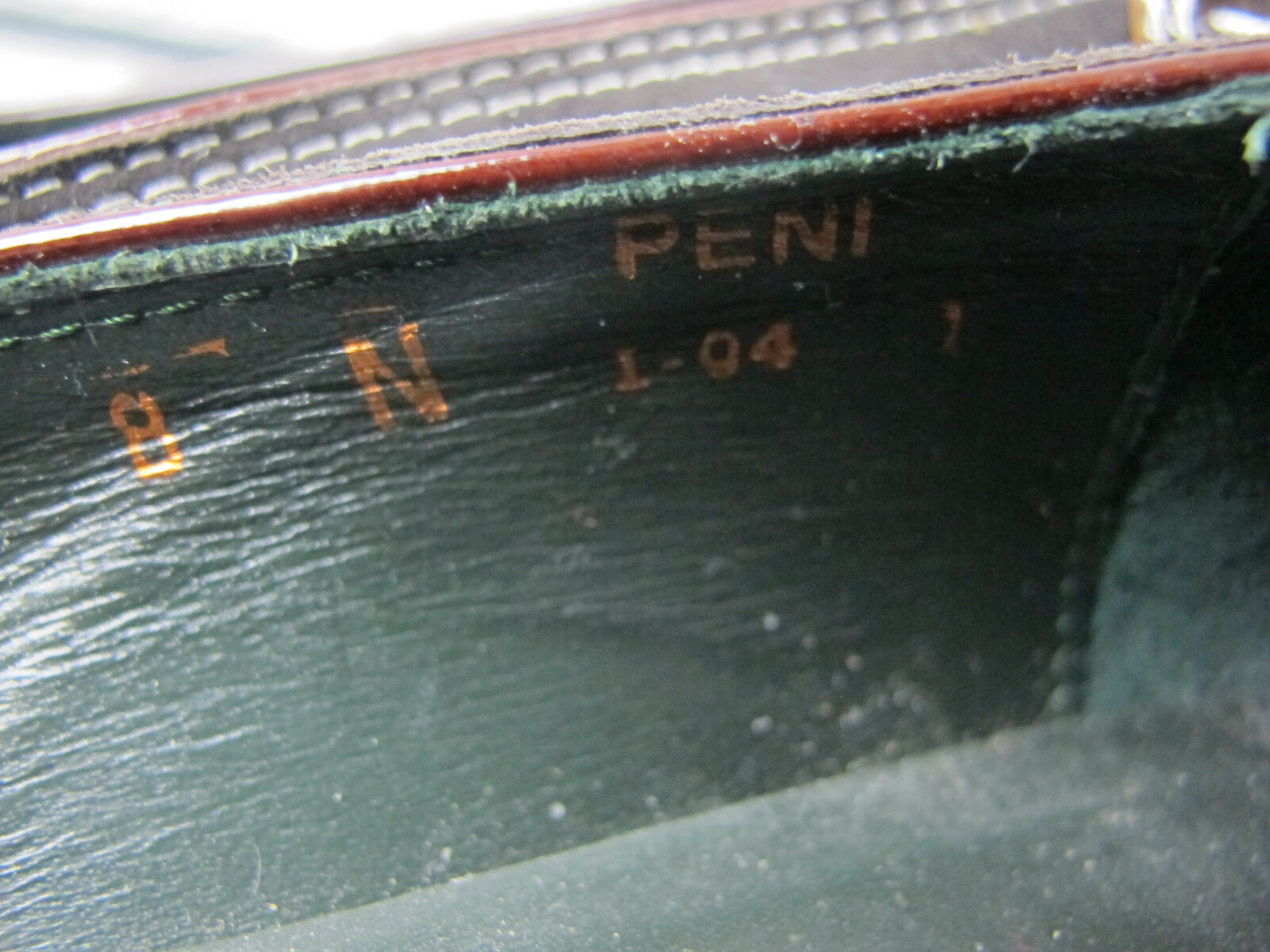 Donald J Pliner    PENI Chocolate braun Slip on Nubuck Trim Wedge Loafer 8M 3bdf1c