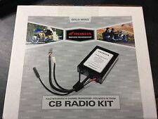 NEW GENUINE OEM 01-10 HONDA GL1800 GOLDWING CB RADIO KIT 08E95-MCA-100A