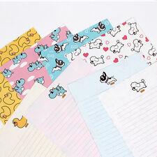 1x Pancoat Pattern Letter Set - 4sh Lined Writing Stationery Paper 2sh Envelope