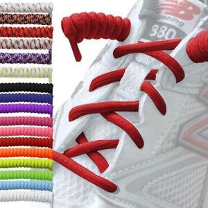Curly Elastic Shoelaces No Tie