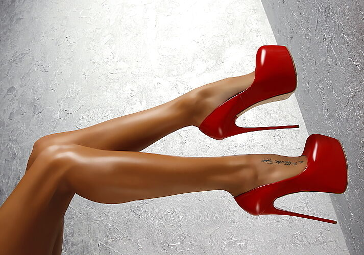 MADE in ITALY Heels Highest Heels ITALY on Earth Pumps Scarpe ba5 VERA PELLE ROSSO 38 337482