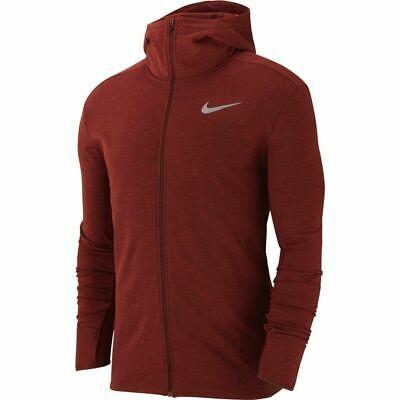 Nike DRY Element Sleeveless Running Hoodie Gunsmoke 928553 Medium
