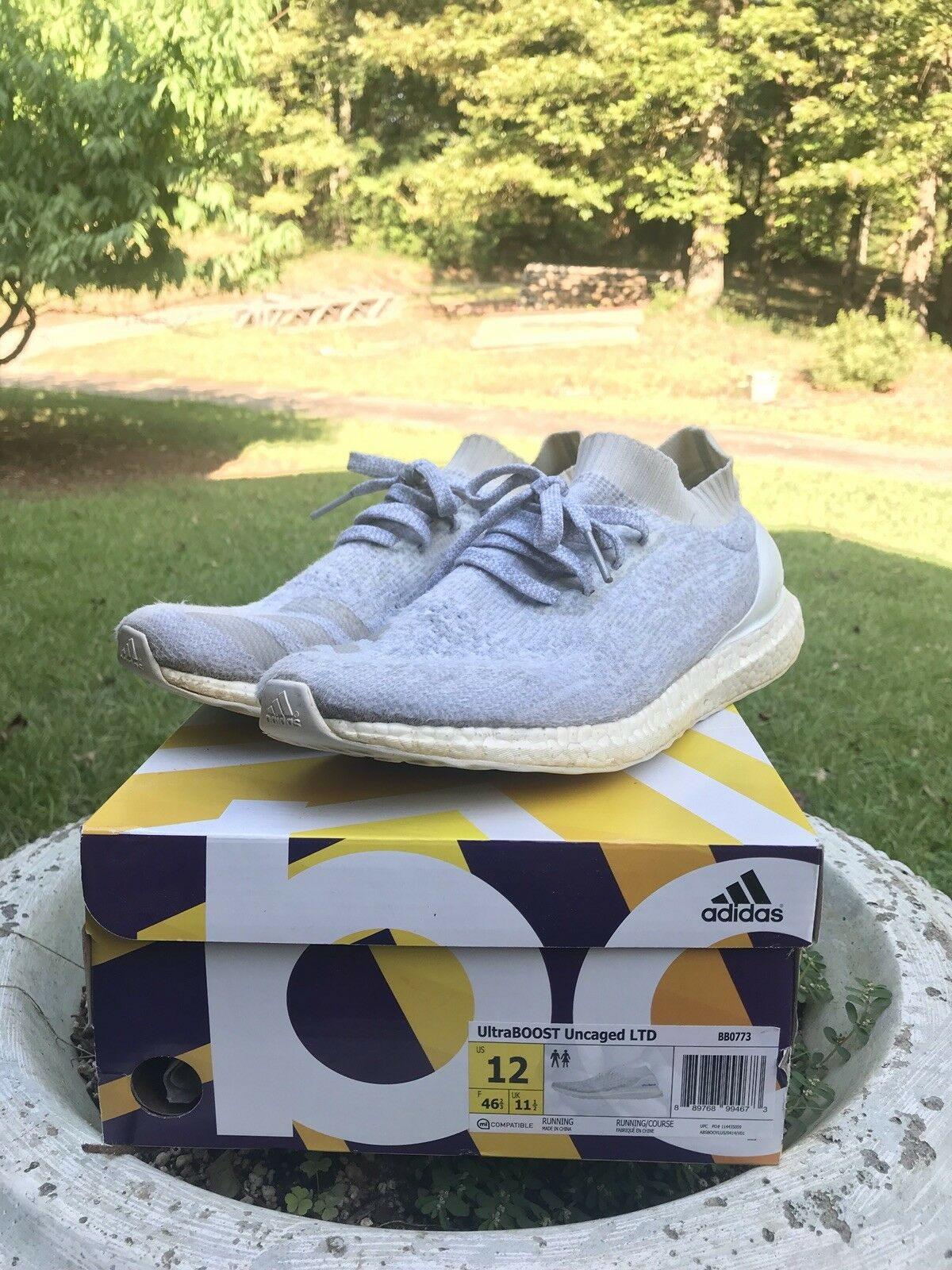 Adidas Ultra Boost Uncaged Size 12