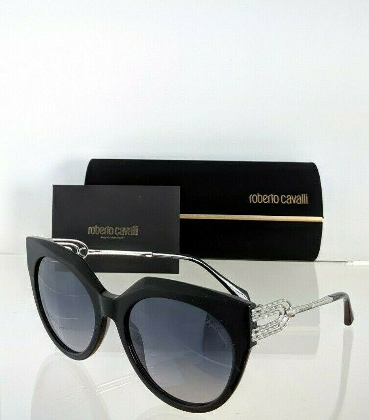 Brand New Authentic Roberto Cavalli Sunglasses 1065 01C GIMIGNANO 56mm Frame