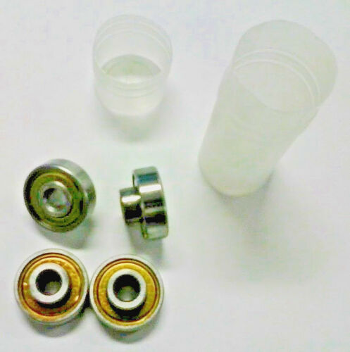 """Extended Race Shielded Bearings 1//4/"""" x 22mm x 7mm 4 pack"""