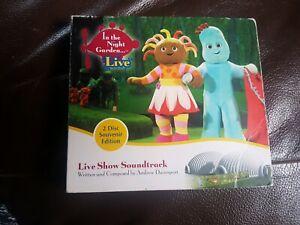 In-The-Night-Garden-Live-THE-BBC-TV-Show-2-Disc-Soundtrack-CD-Album