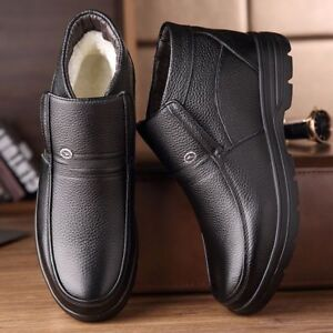 Handmade-Male-Genuine-Leather-Winter-Snow-Ankle-Boots-For-Men-High-Quality