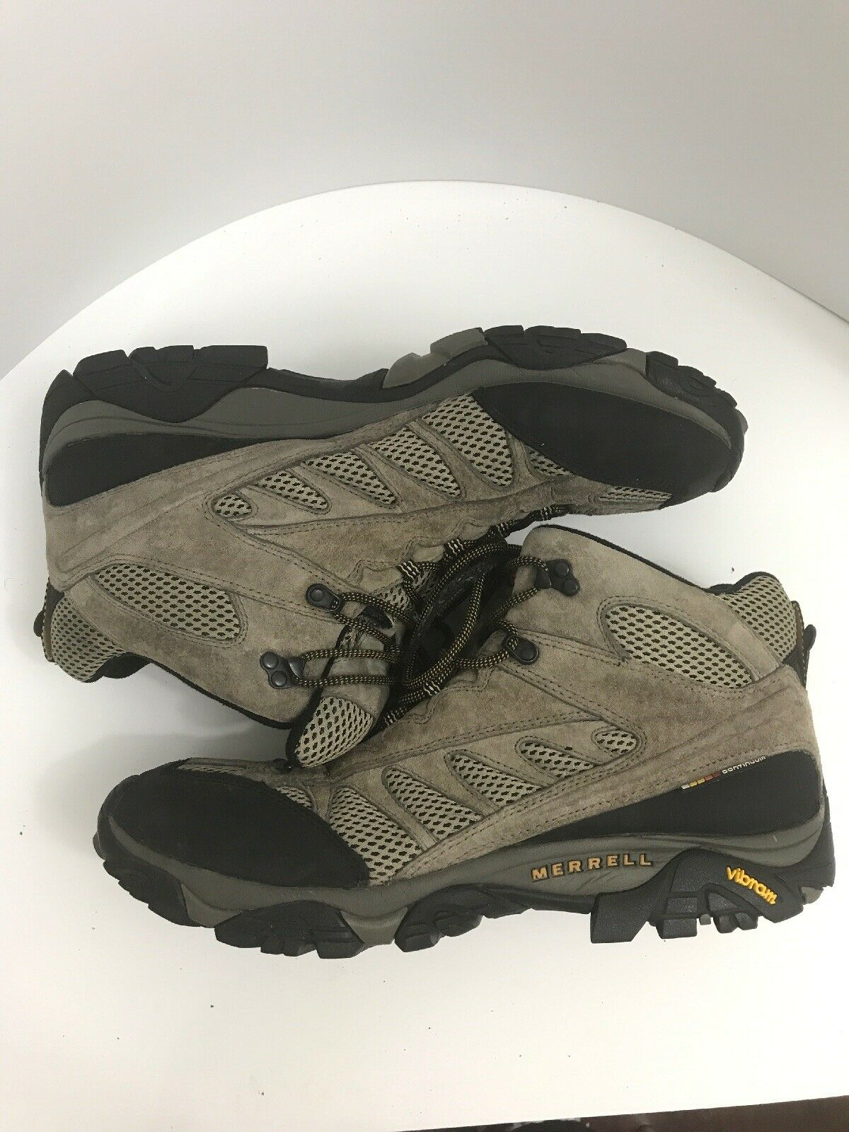 Merrell Continuum Vibram Mens 15 Hiking Trail  Lace Up Boot  sale
