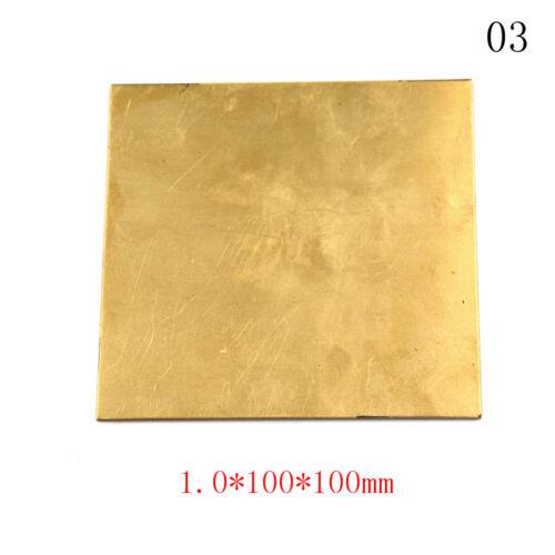 Tôle mince en laiton de tôle d/'aluminium épais 0.5 mm//0.8 mm//1mm//2mm 100X10~PL