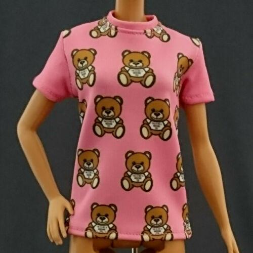 """Handmade~Doll tops for 12/"""" Doll~Barbie,FR,Silkstone,Curvy barbie #B28-0-001168-0"""