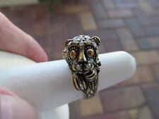 New HEIDI DAUS Crystal No Monkey Business  Ring sz 7  NWOT