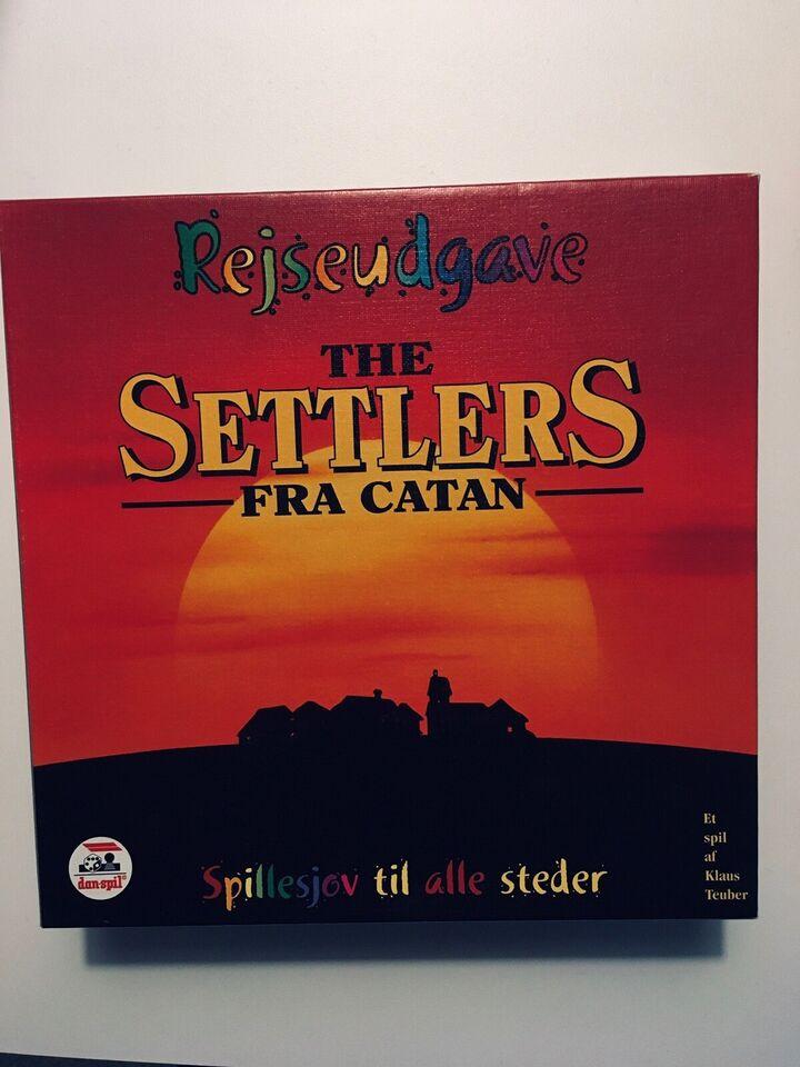 The Settlers fra Catan, Rejsespil , brætspil