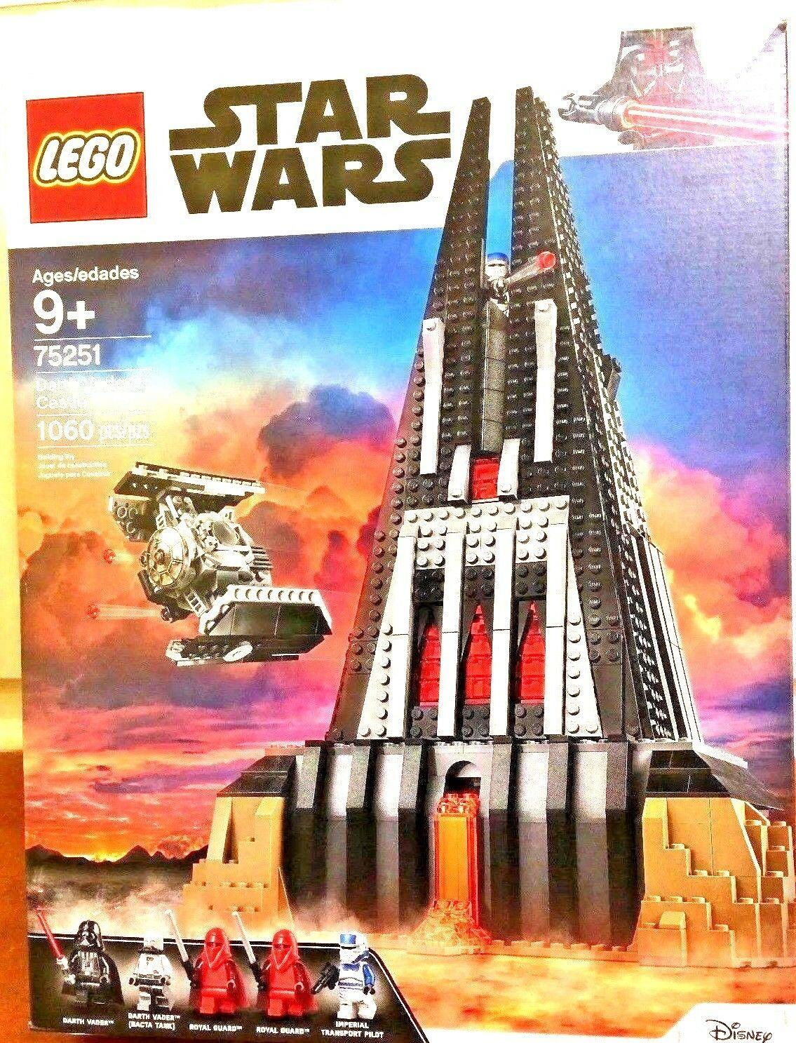 LEGO Star Wars Darth Vader's Castle 75251 Rogue One 1060 NEW OFFICIAL SEALED