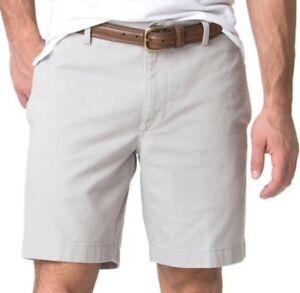 baa31de861 CHAPS Men's Tan Stone Cotton Chino Dress Shorts Big & Tall Size 46 ...
