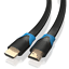 4m-HDMI-Kabel-Flach-von-JAMEGA-4K-Ultra-HD-2160p-Full-HD-1080p-3D-ARC-CEC Indexbild 3