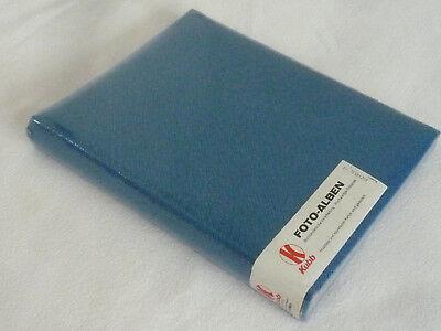 Album Für Fotos Fotoalbum Blau Textil 60 Seiten Neu Ovp
