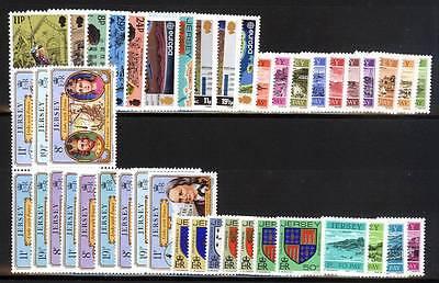 16988/ Jersey 1982 - Kompletter Jahrgang Inkl. Portomarken - ** - M€ 34,30 Entlastung Von Hitze Und Sonnenstich