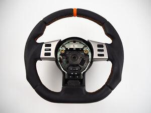 Image Is Loading Nissan 350z Z33 Flat Bottom Steering Wheel Flattened