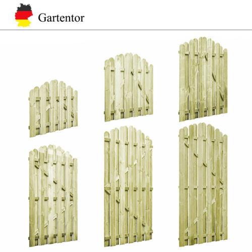 Garten Tor Gartentor Gartentür Holztor Imprägnierte Kiefer mehrere Auswahl Neu