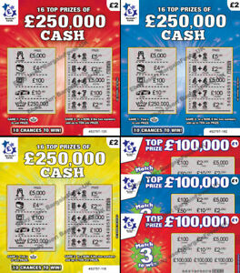 FAKE-JOKE-LOTTERY-SCRATCH-CARDS-TICKETS-SCRATCHCARDS-ALL-WIN-50-000-250-000