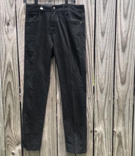 DIOR HOMME black cotton jeans Size 30